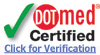 dotmed_certified_verify